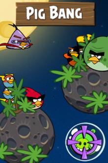 Обои Angry Birds Space Pig Bang от Zooma
