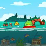 Angry Birds обои на iPad - Свинлантида - от Mr.Green