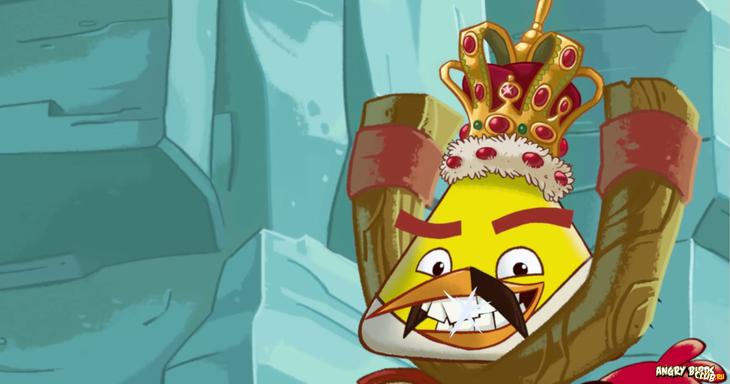 """Angry Birds присоединились к акции """"Фредди на день"""""""