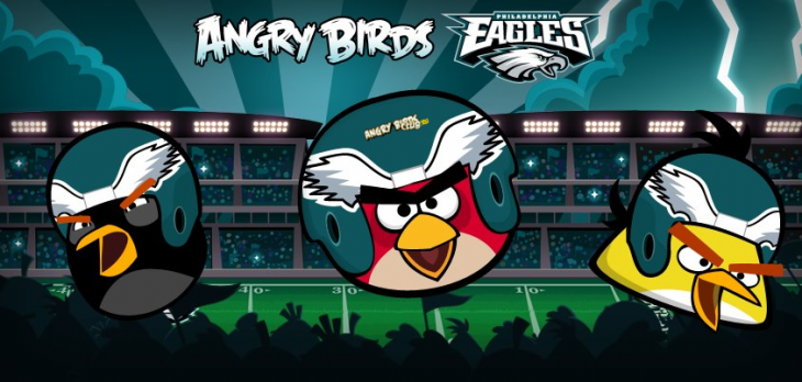 Angry Birds Philagelphia Eagles: анонс