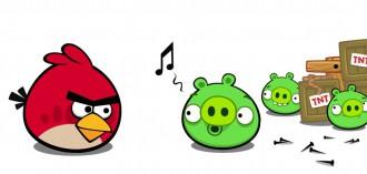 Bad Piggies Facebook - Птицам тут нечего ловить!