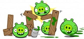 Bad Piggies Facebook - Эй! Чё за фигня?