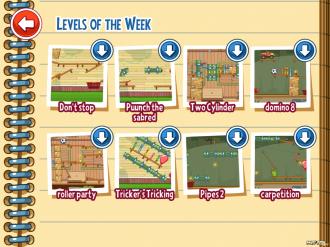 Amazing Alex- Уровни недели: Выбор уровня