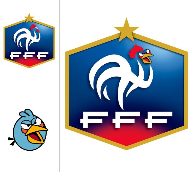 Angry Birds Сборная Франции
