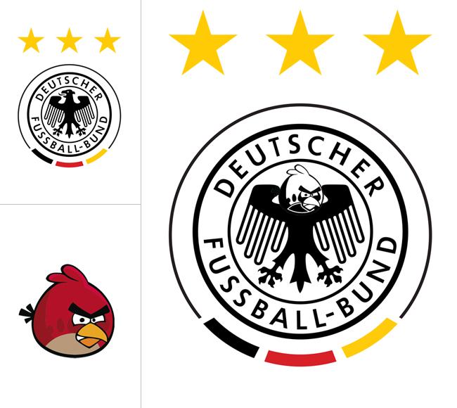 Angry Birds Сборная Германии