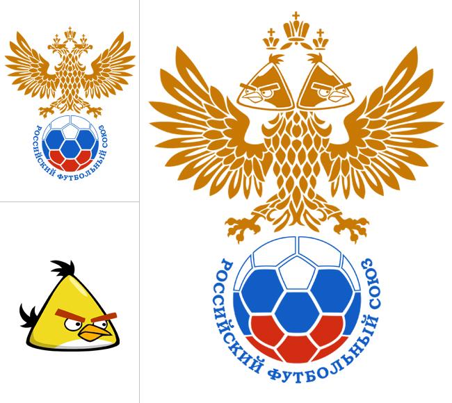 Angry Birds Российский Футбольный Союз
