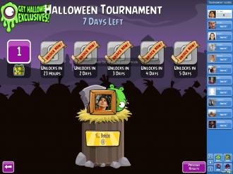 Хэллоуин-турнир: выбор уровня