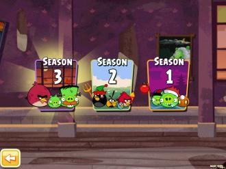 Angry Birds Seasons - Haunted Hogs: Выбор Сезона