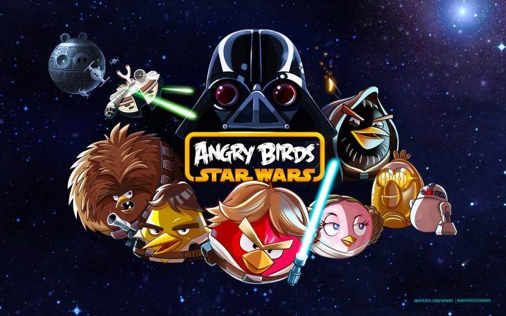 Angry Birds Star Wars - заставка на рабочий стол