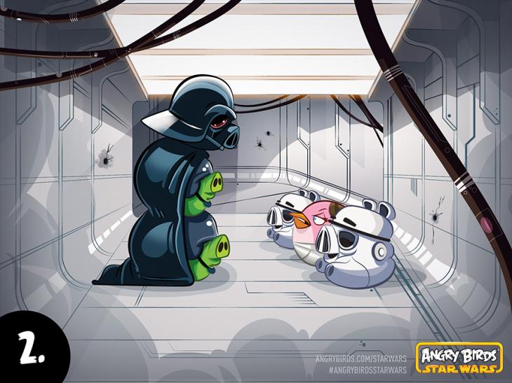 Комикс Angry Birds Star Wars - Часть 2