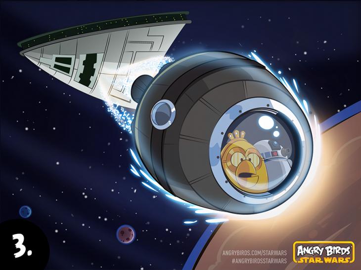 Комикс Angry Birds Star Wars - Часть 3