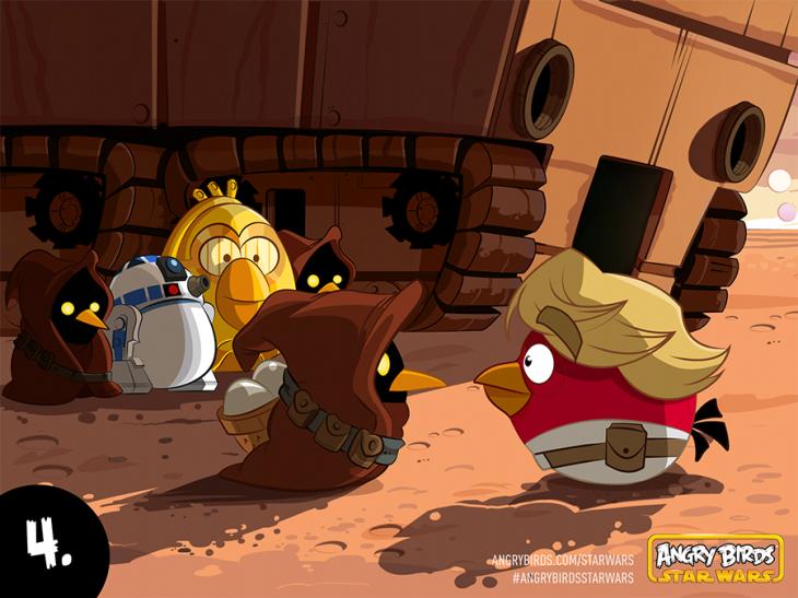 Комикс Angry Birds Star Wars - Часть 4