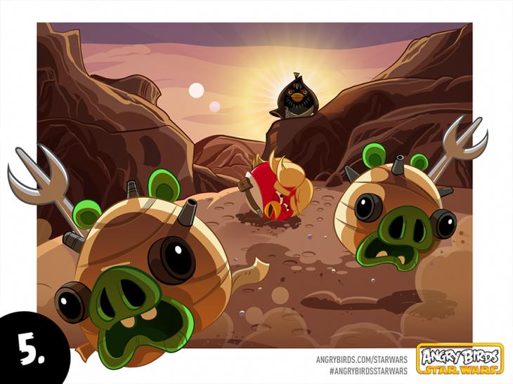 Комикс Angry Birds Star Wars - Часть 5