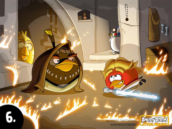 Комикс Angry Birds Star Wars - Часть 6