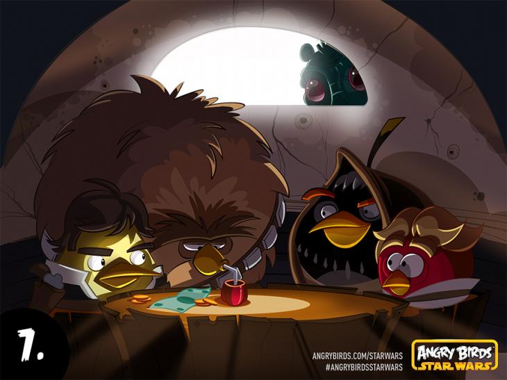 Комикс Angry Birds Star Wars - Часть 7