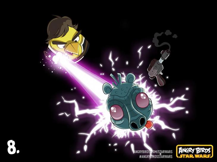 Комикс Angry Birds Star Wars - Часть 8