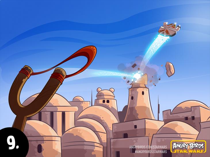 Комикс Angry Birds Star Wars - Часть 9