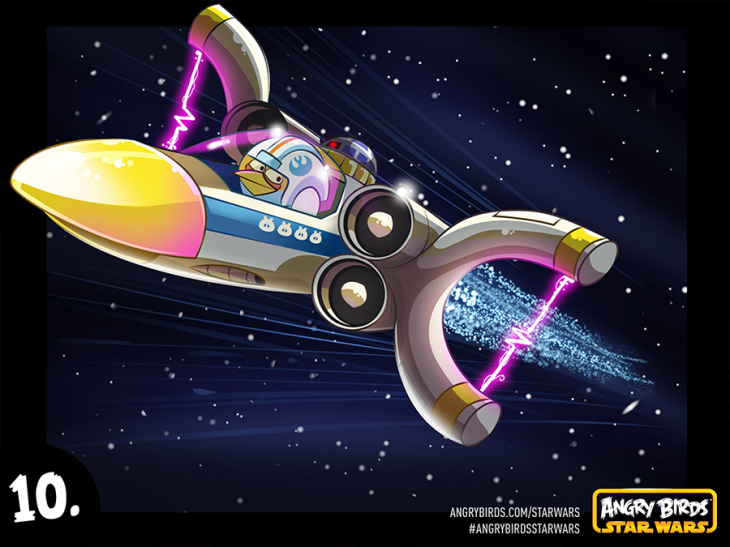Комикс Angry Birds Star Wars - Часть 10