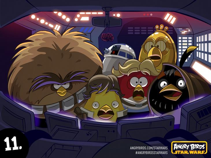 Комикс Angry Birds Star Wars - Часть 11
