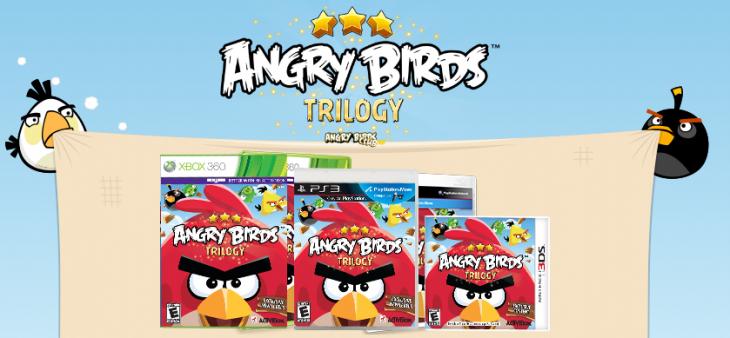 Вышла Angry Birds Trilogy на приставки
