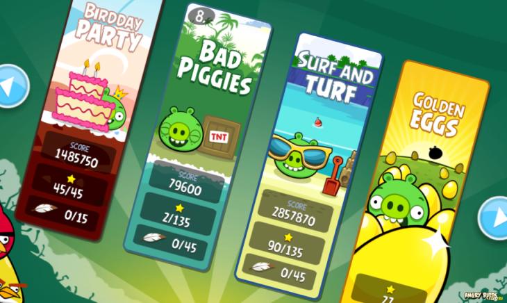 Angry Birds обновилась до v.2.3.0