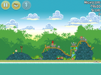 Angry Birds Bad Piggies Уровень 19-1