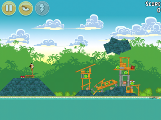 Angry Birds Bad Piggies Уровень 19-2