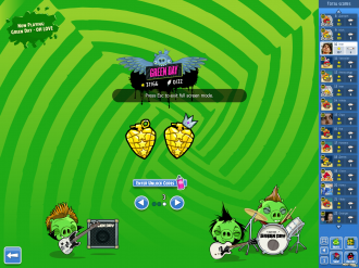 Angry Birds Friends Green Day - Золотые Гранаты