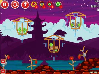 Angry Birds McDonald's - Уровень 1 Mooncake