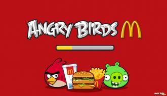 Angry Birds McDonald's - Загрузка