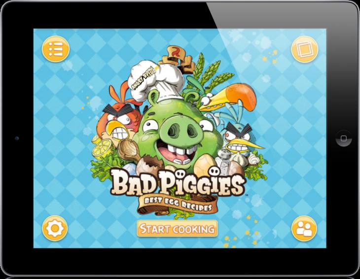 Книга рецептов Плохих Поросят вышла на iPad