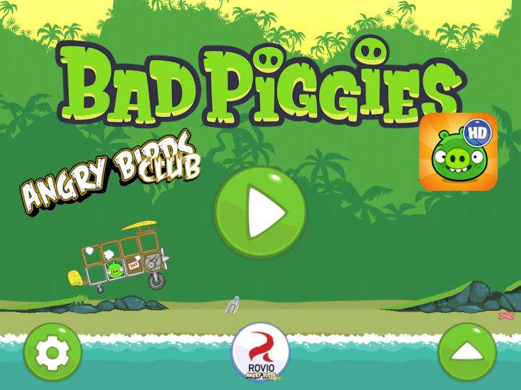 Обзор и описание новой игры Bad Piggies