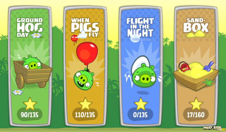 Dышел новый эпизод Bad Piggies - Flight in the Night
