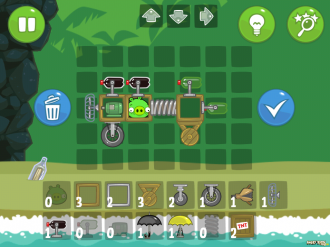 Bad Piggies - SandBox: Режим конструктора