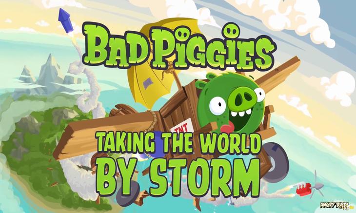 Кругосветное турне Плохих Поросят Bad Piggies