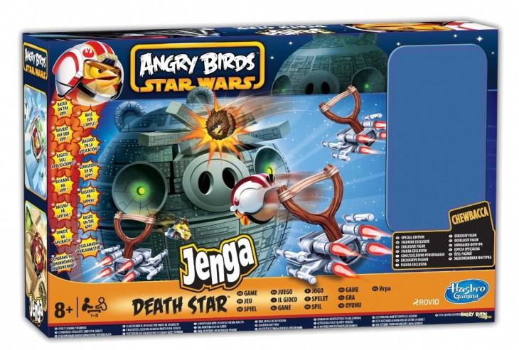 Игра дженга Star Wars Angry Birds от Hasbro