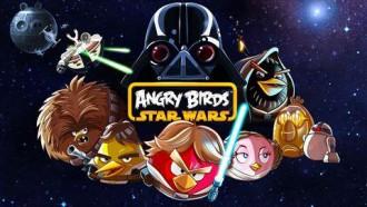 Заставка Angry Birds Star Wars