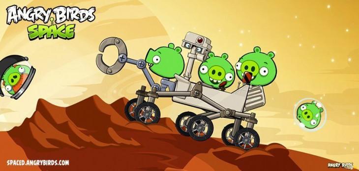 Angry Birds Space - Red Planet: Заключительное обновление