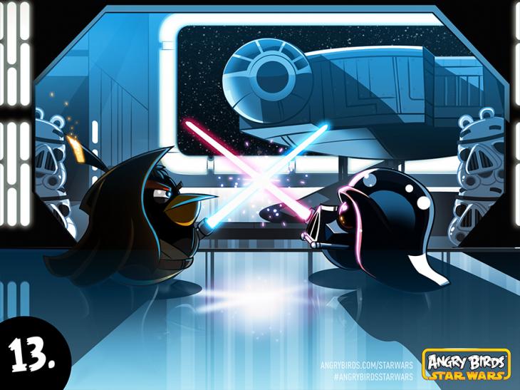 Комикс Angry Birds Star Wars - Часть 13