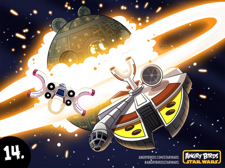 Комикс Angry Birds Star Wars - Часть 14