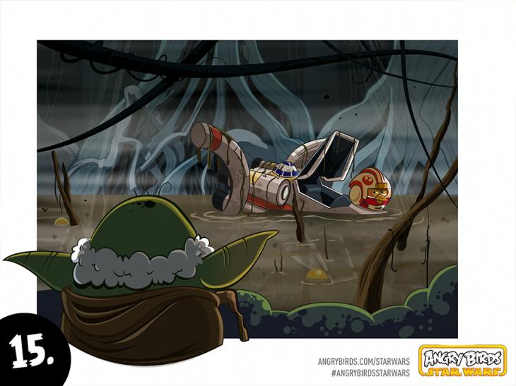 Комикс Angry Birds Star Wars - Часть 15