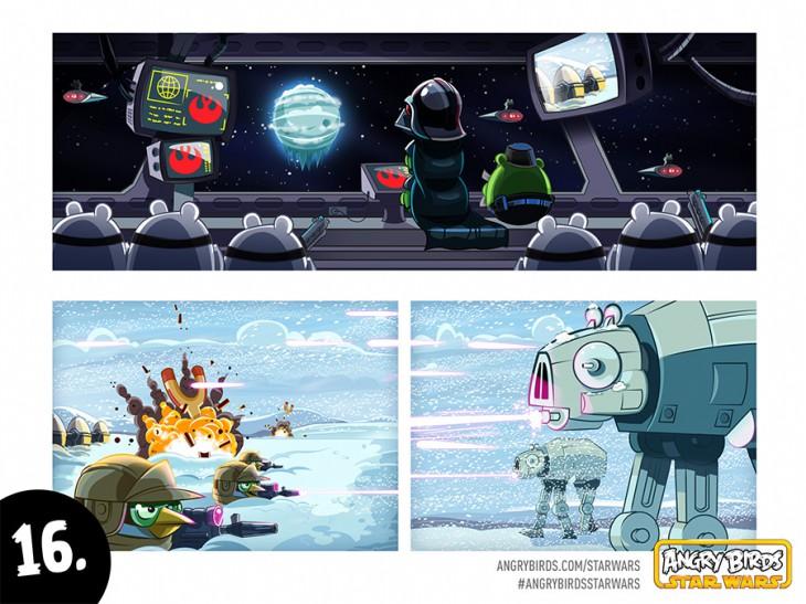 Комикс Angry Birds Star Wars - Часть 16