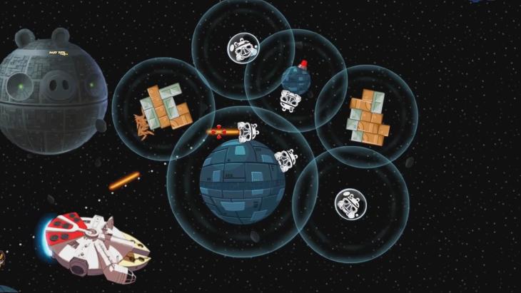 Игровой процесс Angry Birds Star Wars