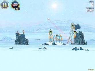 Angry Birds Star Wars: Принцесса Лея в действии!