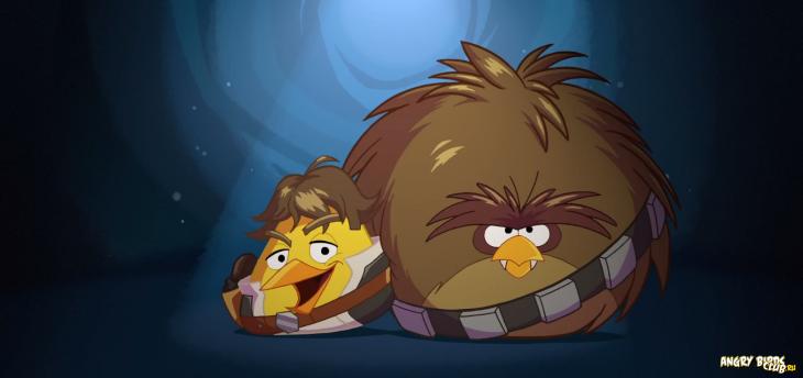 Angry Birds Star Wars: Хан Соло и Чубакка демонстрируют игровой процесс