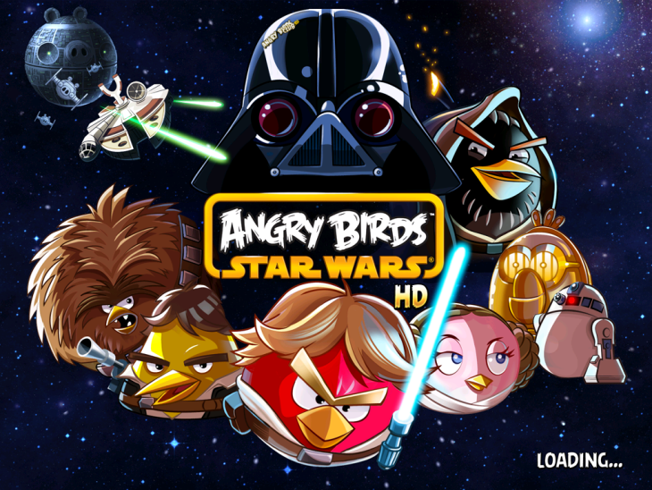 Вышла Angry Birds Star Wars