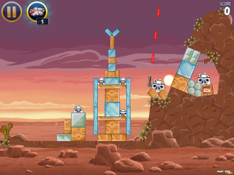 Angry Birds Star Wars: Лазеры