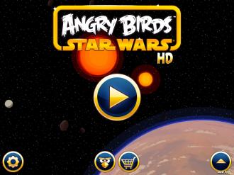 Angry Birds Star Wars: Меню