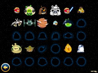 Angry Birds Star Wars: Стена Героев
