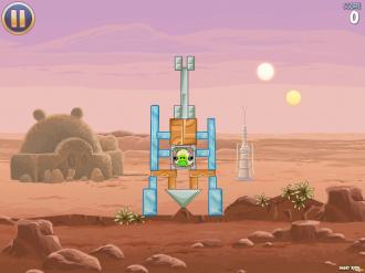 Angry Birds Star Wars: Уровень 1-1